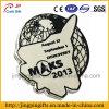 2016 Großverkauf kundenspezifisches Hight Qualitätsmetalldecklack-Abzeichen