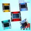 Parafuso prisioneiro solar sem fio da estrada da liga de alumínio com os 6 grânulos super do diodo emissor de luz da luminosidade