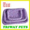 개와 고양이 (WY1610114-4A/C)를 위한 싼 부드러움과 안락 산호 우단 침대