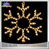 주문을 받아서 만들어진 장식적인 옥외 제 2 주제 LED 크리스마스 눈송이 빛