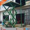 Stazionario Scissor l'elevatore per le merci di sollevamento del magazzino
