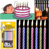 Birthday Party Supplies Relighting Candle