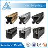 Pièces en aluminium de profil d'extrusion de fabrication d'usine d'OIN pour Windows