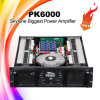 Pk6000 Profesional amplificador de potencia de 1800W de alta