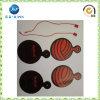 Оптовые продажи подгоняли бирку Hang конструкции логоса с шнуром (JP-HT072)