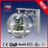 High-End Regalos de Navidad de plata lámpara de pared con LED árbol de Navidad