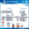 Автоматическое заполнение бачка жидкости фармацевтических препаратов и Capping производителем оборудования