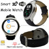 Het nieuwste Slimme Horloge van 3G/WiFi Digita Bluetooth met de Monitor van het Tarief van het Hart
