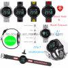 À prova de bracelete inteligente com a freqüência cardíaca e o Monitor de Pressão Arterial dm58