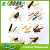 Forme différente et de la taille de sabots de bois durable Brosse à main