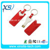 Lederner USB Flash Drive mit Full Silicon Power (XST-U058)