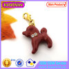Cute Enamel Red Dog Charm Pendant