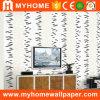 Het in het groot Behang van de Textuur van het Huis Decoratieve met Mooi Ontwerp