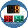 24 sinais contrários do tempo do diodo emissor de luz da polegada