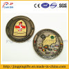 2016 최신 판매 주문 새로운 디자인 금속 사기질 기념품 기장, 접어젖힌 옷깃 Pin