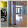 Sinal Floor-Standing Direcional/placa de sinal curvos Board