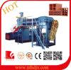 La Cina ha fatto la pianta solida e vuota della macchina del mattone