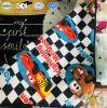 Bufanda de dibujos animados de la alimentación de la Saliva de algodón toalla Baby Bib
