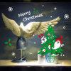 عيد ميلاد المسيح زخرفة نافذة لاصق لأنّ عيد ميلاد المسيح زخرفة