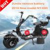 2018新しいセリウム公認の大人の珍しいブラシレス連動させられたモーター2車輪の電気スクーター