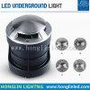 Côté LED Lampe creusée 3W d'éclairage LED RVB encastré souterrain