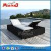 Китай Фошань металлической садовой мебелью двуспальная кровать Sun шезлонге