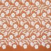 Fatto nel commercio all'ingrosso del tessuto del merletto ricamato fiori della Cina
