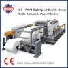 El SK-1700M Servo Control doble cuchilla giratoria automática de papel de alta velocidad Sheeter