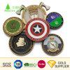 Настраиваемый логотип производителя памятных сувениров Gold Silver старинные латунные цинкового сплава мягкой эмали 3D-ВМС военных металлические задача монетка для рекламных подарков
