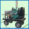 500bar 배 선체 페인트 청소 기계 고압 청소 기계