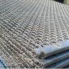 Rete metallica unita utilizzata come vaglio oscillante nell'estrazione mineraria
