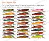 Leurre de pêche Pêche ,leurre en plastique--Musky Hunter (HRL006)