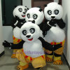 Traje da mascote de Paul da panda de Kong Fu (FLMC-24)