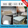 석고 보드 박판으로 만들어진 PVC 필름 또는 알루미늄 호일을%s 공장 제안 고품질 백색 접착제