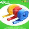 Boyau de jardin flexible de boyau de Layflat de pipe d'irrigation d'agriculture de l'eau de PVC de plastique