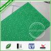 Folha decorativa de dobra fácil ondulada gravada do policarbonato do PC diamante verde