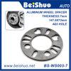 Espaciador de rueda de aluminio para 4 y 5 agujeros