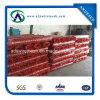 Maglia di plastica della rete fissa/barriera di sicurezza arancione