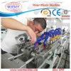 Machine d'extrusion de bande de bord de sortie double de PVC avec la machine de trois couleurs