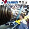 Cadena de producción del tubo del enrollamiento del HDPE/máquina espirales del tubo de Krah