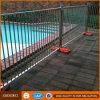 Clôture provisoire de piscine de garantie en acier de Galvanzied