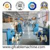 Linha de produção Sheathing da máquina da extrusão do cabo distribuidor de corrente
