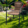Giardino Furniture di Wicker Stacking Chair