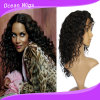 100% Real Human Hair Lace Front Wig