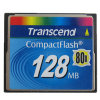 Transcend 128MB Compact Flash Card 128MB 80X CF Memory Card