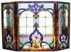 Tiffanyは溶解のガラス窓のパネルを汚した