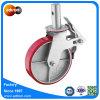 Nicht-Markierung PU-Form auf Stahlbaugerüst-Rad-Fußrollen