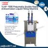 El doble neumático dirige la máquina de rellenar líquida de la anticorrosión hacia el desinfectante (YLHF-1000)