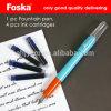 Penna di fontana calda di vendita di Foska con l'imballaggio della scheda della bolla