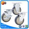 4  100kg 방위 수용량 트롤리 피마자 바퀴